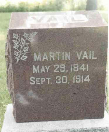 VAIL, MARTIN - McDonough County, Illinois   MARTIN VAIL - Illinois Gravestone Photos