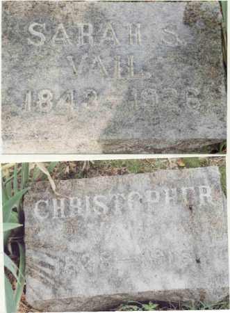 VAIL, SARAH S. - McDonough County, Illinois | SARAH S. VAIL - Illinois Gravestone Photos