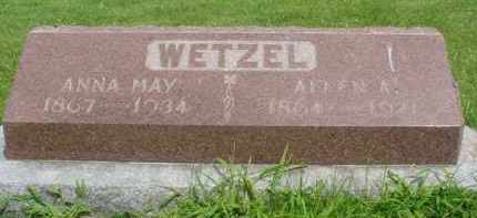 FOSTER WETZEL, ANNA MAY - McDonough County, Illinois | ANNA MAY FOSTER WETZEL - Illinois Gravestone Photos