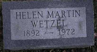 WETZEL, HELEN SUZANNE - McDonough County, Illinois | HELEN SUZANNE WETZEL - Illinois Gravestone Photos