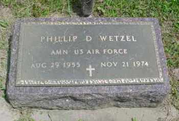 WETZEL, PHILLIP DUANE - McDonough County, Illinois | PHILLIP DUANE WETZEL - Illinois Gravestone Photos