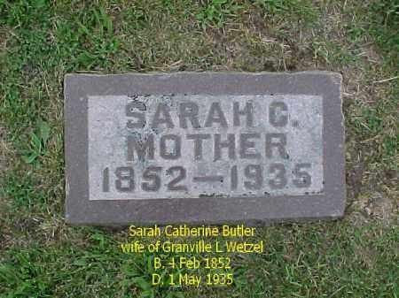WETZEL, SARAH CATHERINE - McDonough County, Illinois | SARAH CATHERINE WETZEL - Illinois Gravestone Photos