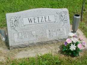 WETZEL, WILLIAM A. - McDonough County, Illinois | WILLIAM A. WETZEL - Illinois Gravestone Photos