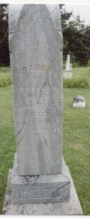 WHELCHEL, SARAH - McDonough County, Illinois | SARAH WHELCHEL - Illinois Gravestone Photos