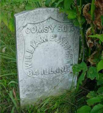 WRIGHT, WILLIAM B. - McDonough County, Illinois | WILLIAM B. WRIGHT - Illinois Gravestone Photos