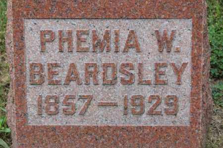 BEARDSLEY, PHEMIA W. - McHenry County, Illinois | PHEMIA W. BEARDSLEY - Illinois Gravestone Photos