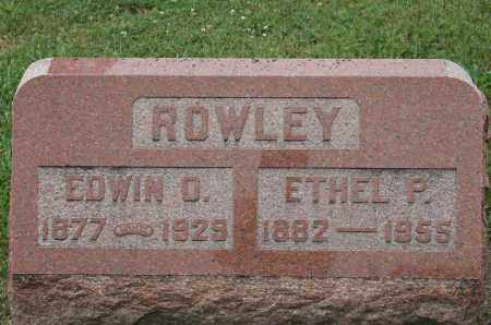 ROWLEY, EDWIN O. - McHenry County, Illinois | EDWIN O. ROWLEY - Illinois Gravestone Photos