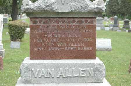 VAN ALLEN, OLIVE - McHenry County, Illinois | OLIVE VAN ALLEN - Illinois Gravestone Photos