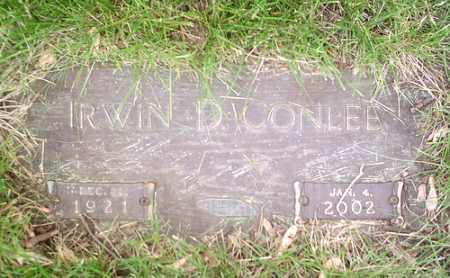 CONLEE, IRWIN - McLean County, Illinois | IRWIN CONLEE - Illinois Gravestone Photos