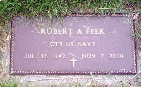 FEEK, ROBERT - McLean County, Illinois | ROBERT FEEK - Illinois Gravestone Photos