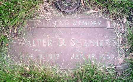 SHEPHERD, WALTER - McLean County, Illinois | WALTER SHEPHERD - Illinois Gravestone Photos