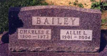 BAILEY, CHARLES EDGAR - Mercer County, Illinois | CHARLES EDGAR BAILEY - Illinois Gravestone Photos