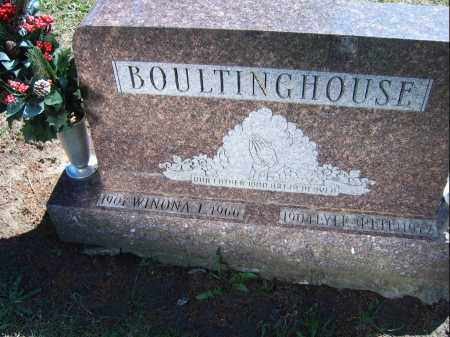 BOULTINGHOUSE, JOHN - Mercer County, Illinois | JOHN BOULTINGHOUSE - Illinois Gravestone Photos