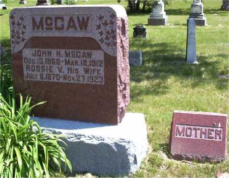 MCCAW, ROSSIE - Mercer County, Illinois | ROSSIE MCCAW - Illinois Gravestone Photos