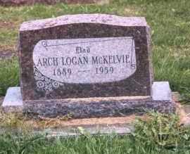 MCKELVIE, ARCH LOGAN - Mercer County, Illinois | ARCH LOGAN MCKELVIE - Illinois Gravestone Photos