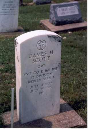 SCOTT, JAMES HARVEY - Mercer County, Illinois | JAMES HARVEY SCOTT - Illinois Gravestone Photos