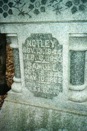 SCOTT, NOTLEY - Mercer County, Illinois | NOTLEY SCOTT - Illinois Gravestone Photos