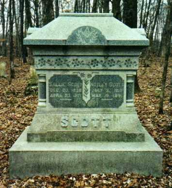 SCOTT, SALLY - Mercer County, Illinois | SALLY SCOTT - Illinois Gravestone Photos