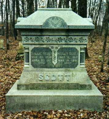 SCOTT, NOTLEY C. - Mercer County, Illinois | NOTLEY C. SCOTT - Illinois Gravestone Photos
