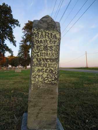 GERMANN, MARIA - Morgan County, Illinois | MARIA GERMANN - Illinois Gravestone Photos