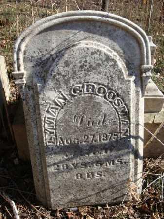 GROSSMAN, LYMAN - Morgan County, Illinois   LYMAN GROSSMAN - Illinois Gravestone Photos