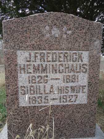HEMMINGHAUS, JOHN FREDERICK - Morgan County, Illinois | JOHN FREDERICK HEMMINGHAUS - Illinois Gravestone Photos