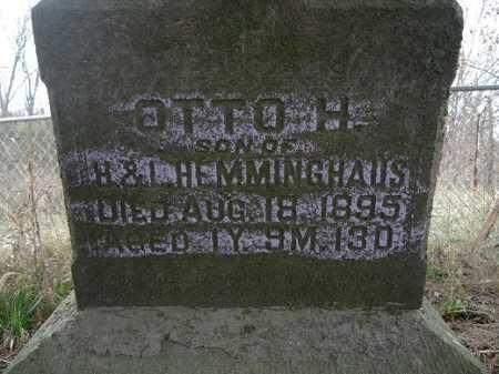 HEMMINGHAUS, OTTO HEINRICH - Morgan County, Illinois   OTTO HEINRICH HEMMINGHAUS - Illinois Gravestone Photos