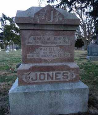JONES, JAMES M. - Morgan County, Illinois | JAMES M. JONES - Illinois Gravestone Photos