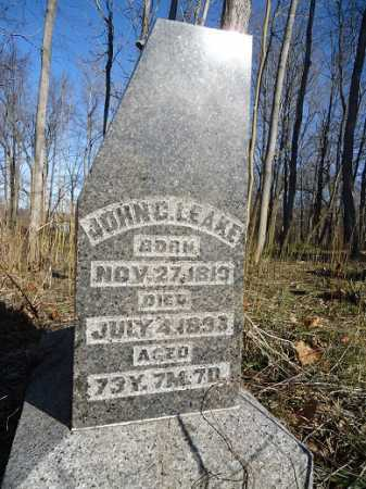 LEAKE, JOHN . - Morgan County, Illinois   JOHN . LEAKE - Illinois Gravestone Photos