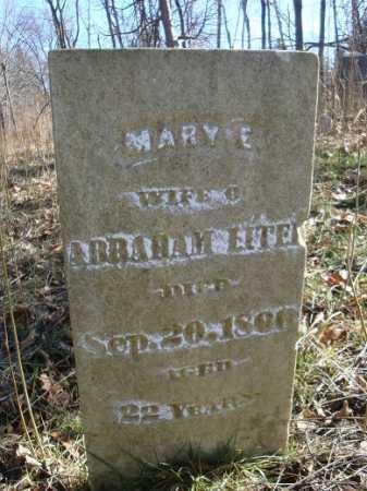 LITER, MARY E. - Morgan County, Illinois   MARY E. LITER - Illinois Gravestone Photos