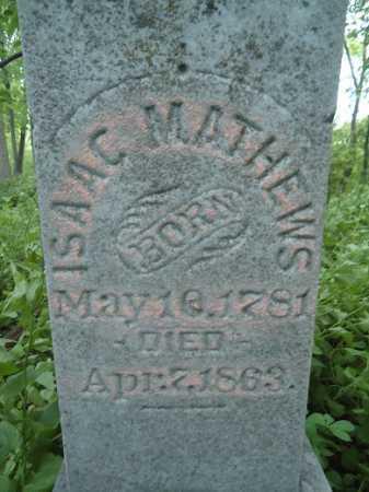 MATHEWS, ISAAC - Morgan County, Illinois   ISAAC MATHEWS - Illinois Gravestone Photos