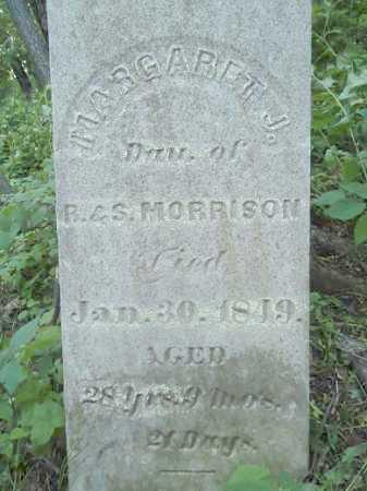 MORRISON, MARGARET J. - Morgan County, Illinois   MARGARET J. MORRISON - Illinois Gravestone Photos