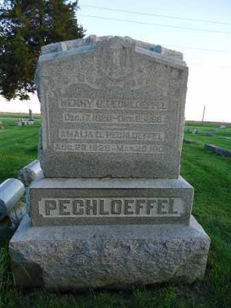 PECHLOEFFEL, HENRY G - Morgan County, Illinois | HENRY G PECHLOEFFEL - Illinois Gravestone Photos