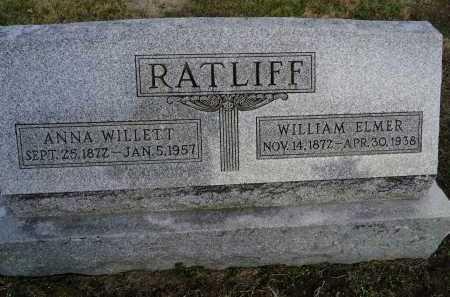 RATLIFF, WILLIAM ELMER - Morgan County, Illinois | WILLIAM ELMER RATLIFF - Illinois Gravestone Photos