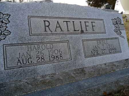 RATLIFF, HAROLD - Morgan County, Illinois | HAROLD RATLIFF - Illinois Gravestone Photos