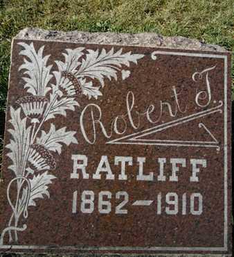 RATLIFF, ROBERT T. - Morgan County, Illinois | ROBERT T. RATLIFF - Illinois Gravestone Photos