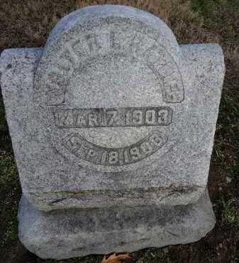 RATLIFF, WALTER E. - Morgan County, Illinois | WALTER E. RATLIFF - Illinois Gravestone Photos