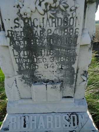 RICHARDSON, LYDIA - Morgan County, Illinois | LYDIA RICHARDSON - Illinois Gravestone Photos