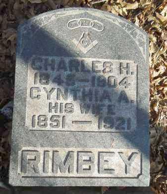 SMITH RIMBEY, CYNTHIA A. - Morgan County, Illinois | CYNTHIA A. SMITH RIMBEY - Illinois Gravestone Photos