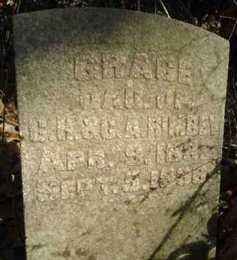 RIMBEY, GRACE - Morgan County, Illinois | GRACE RIMBEY - Illinois Gravestone Photos