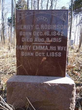 ROBINSON, HENRY C. - Morgan County, Illinois | HENRY C. ROBINSON - Illinois Gravestone Photos