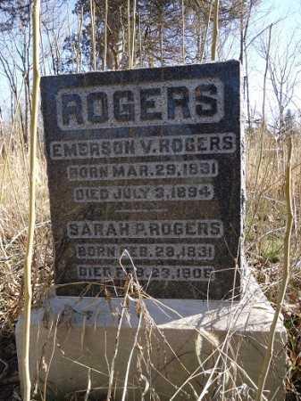 ROGERS, EMERSON V. - Morgan County, Illinois | EMERSON V. ROGERS - Illinois Gravestone Photos