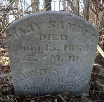 SAMPLE, MARY - Morgan County, Illinois | MARY SAMPLE - Illinois Gravestone Photos