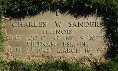 SANDERS, CHARLES WILLIAM - Morgan County, Illinois | CHARLES WILLIAM SANDERS - Illinois Gravestone Photos