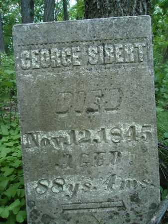 SIBERT, GEORGE - Morgan County, Illinois | GEORGE SIBERT - Illinois Gravestone Photos