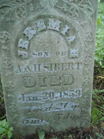 SIBERT, JEREMIAH - Morgan County, Illinois | JEREMIAH SIBERT - Illinois Gravestone Photos