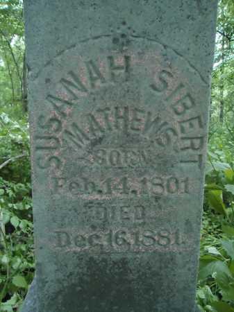 MATHEWS, SUSANAH - Morgan County, Illinois   SUSANAH MATHEWS - Illinois Gravestone Photos