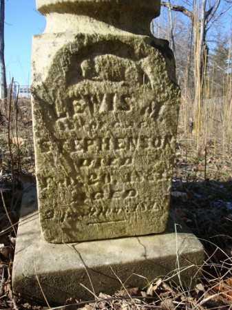 STEPHENSON, LEWIS M. - Morgan County, Illinois | LEWIS M. STEPHENSON - Illinois Gravestone Photos