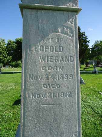 WIEGAND, SOPHIA M. - Morgan County, Illinois | SOPHIA M. WIEGAND - Illinois Gravestone Photos