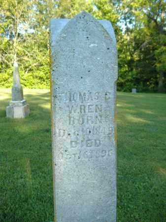 WREN, THOMAS C. - Moultrie County, Illinois | THOMAS C. WREN - Illinois Gravestone Photos
